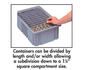 DIVIDERS FOR DIVIDABLE GRID CONTAINER
