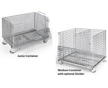 WORLDTAINER™ WIRE MESH CONTAINER ACCESSORIES